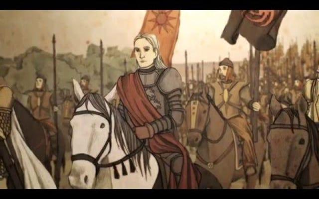 Assistez à la chute de la maison Targaryen dans ces vidéos de Game of Thrones