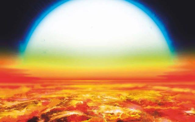 Questo nuovo esopianeta è così caldo che la sua atmosfera è composta da ferro vaporizzato e titanio.
