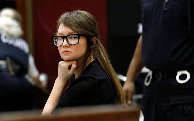 Anna Sorokin serait détenue par ICE
