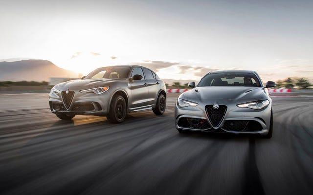 Les éditions ultra-exclusives Alfa Romeo Giulia et Stelvio Quadrifoglio NRING sont déjà presque épuisées en Amérique (mise à jour)