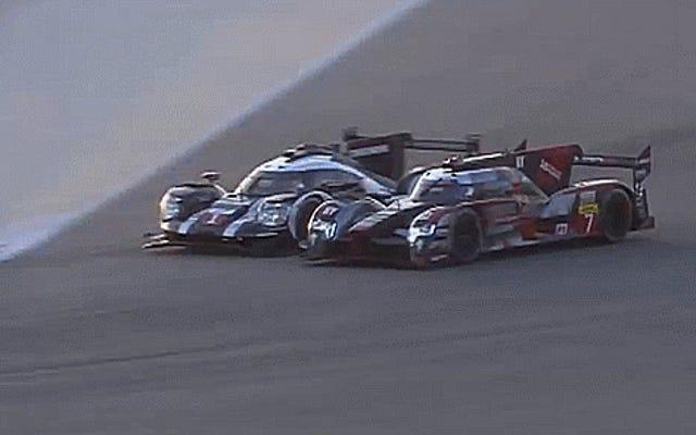 ऑडी ने अपनी अंतिम WEC रेस को बाहर के चारों ओर एक एपिक पास के साथ शुरू किया