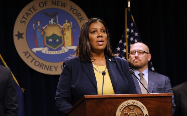 NY अटॉर्नी जनरल लेटिटिया जेम्स को जांचने के लिए कि क्या NYPD लक्ष्य काले लोगों को सबवे किराया चोरी के लिए