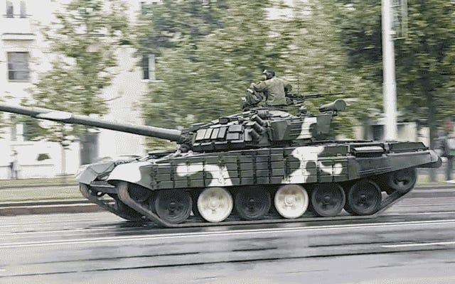 Tatlı Tank Drift Kötü Sona Eriyor
