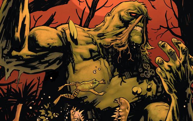 DC Universe's Swamp Thing Akan Dimainkan oleh Dua Aktor Berbeda