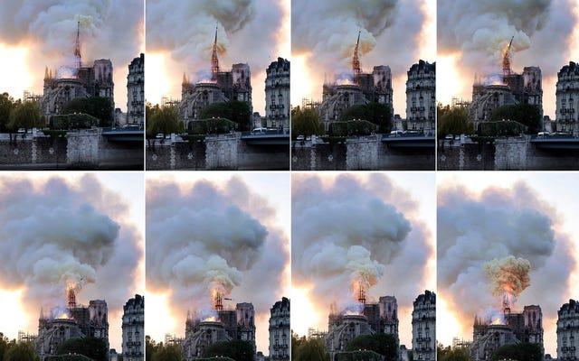 ノートルダム大聖堂の火を消すためにタンカーが使用されなかった理由