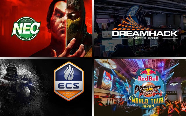 Weekend eSports - NEC 20 || Esports Championship Series || Smash Ultimate @ DreamHack || Starcraft 2 Nationwars Playoffs