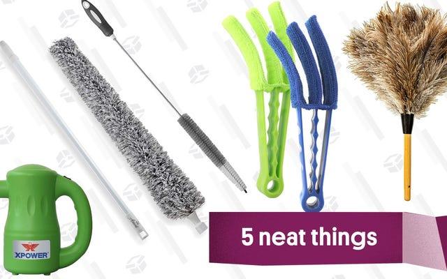 Cinque spolverini speciali per rimuovere tutta la polvere dalla tua casa, vita