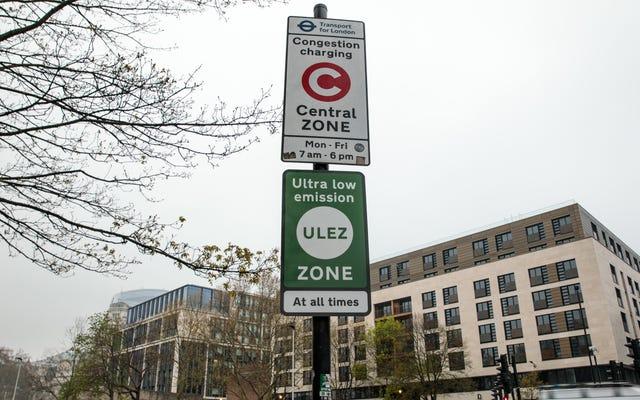 ロンドンの新しい「超低排出ゾーン」は、古くて汚染された車を追放します
