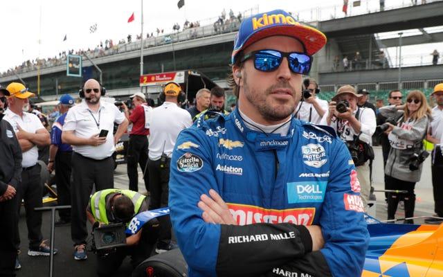 フェルナンド・アロンソは来年、インディカーをフルタイムで走らせない