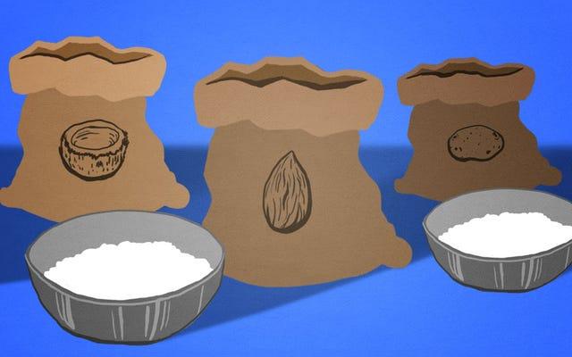 Votre guide du monde étrange de la farine alternative