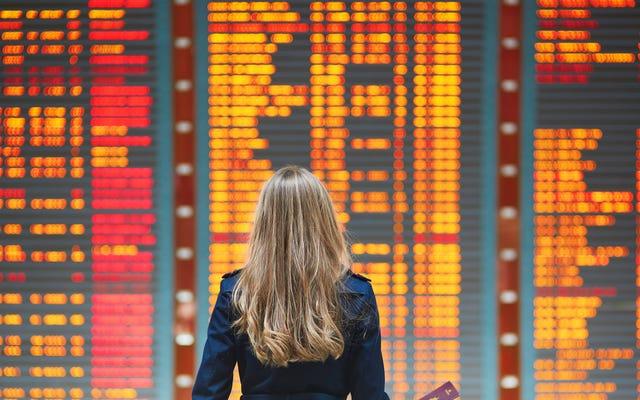 Посмотрите, как долго ваш рождественский рейс будет задержан в этих аэропортах США