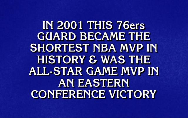 Ayez l'un de ces Dang Jeopardy! Les nerds ont regardé un seul match de basket?