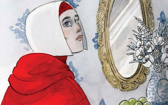 Un regard exclusif sur l'adaptation magnifique et obsédante du roman graphique de The Handmaid's Tale