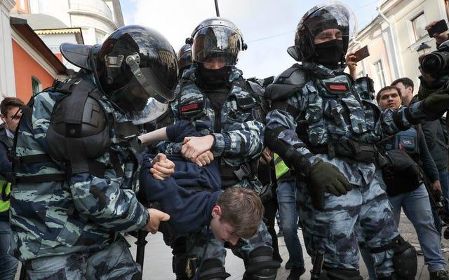 La Russie demande à Google de cesser d'envoyer des notifications push YouTube pour les livestreams de protestation