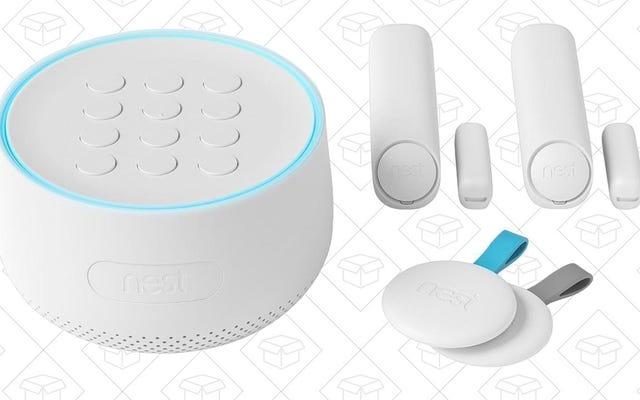 Tiết kiệm $ 140 cho Hệ thống An ninh Gia đình Tuyệt vời của Nest