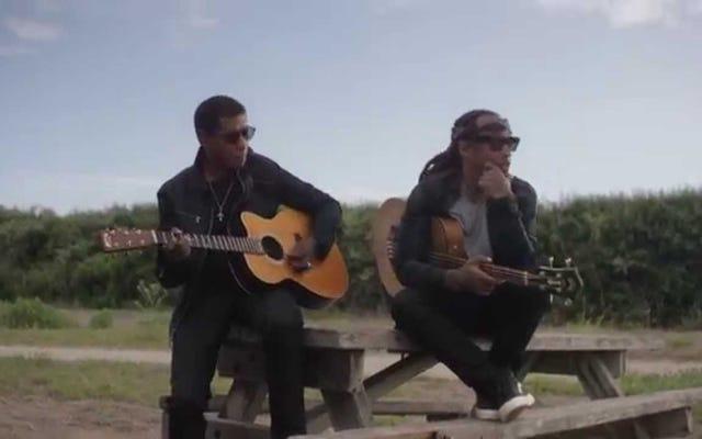 Ty Dolla $ ign&Babyfaceが「Solid」ビデオのアコースティックギターでリアルになりすぎる