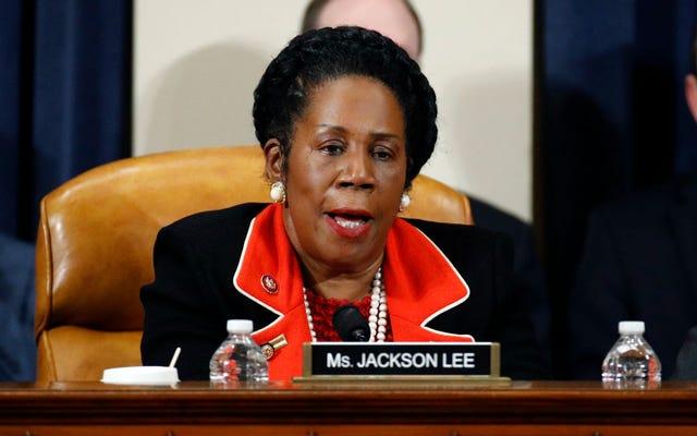 シーラ・ジャクソン・リー議員が賠償請求書を再導入