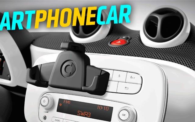 Le nouveau Smart ForTwo peut avoir la meilleure intégration de smartphone de toutes les voitures