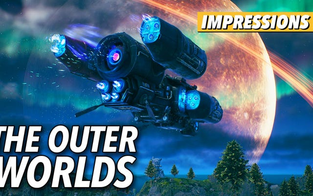 The Outer Worlds - это виртуальный тематический парк, где отношения имеют значение