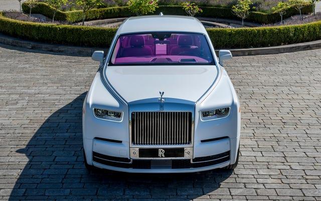 Voici quelques-unes des voitures personnalisées les plus ridicules construites par Rolls-Royce l'année dernière