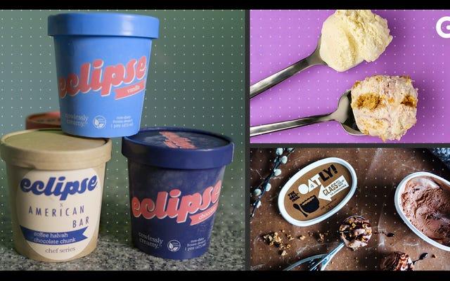 Teste de sabor de sorvete à base de plantas: o que mais se aproxima da coisa real?
