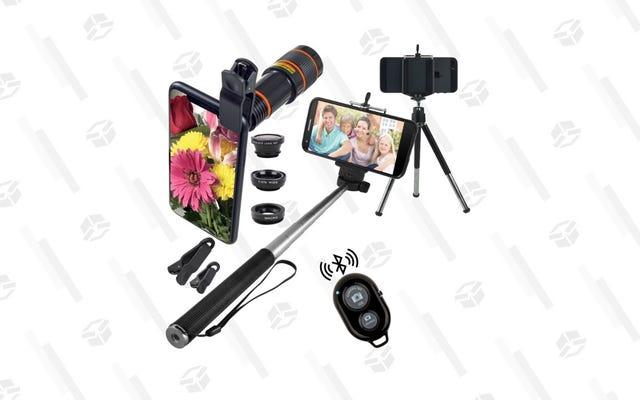 Sube de nivel tu juego de selfies por solo $ 19 con este paquete de diez piezas