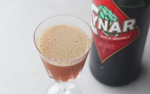 This Cynar Sour Is the Perfect Pre-Dinner Libation