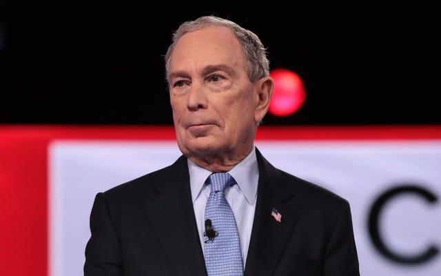 Mike Bloomberg jest pełen gówna, podobnie jak jego surogatki
