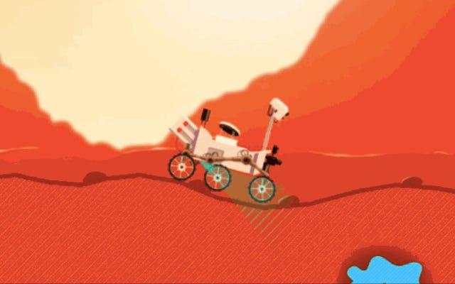 あなたはNASAの新しいドライビングゲームで好奇心のローバーになることができます