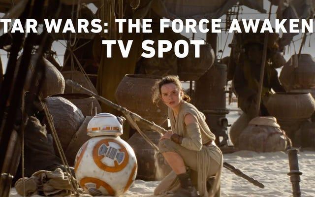 Rey Kicks Ass no mais recente comercial de TV para The Force Awakens