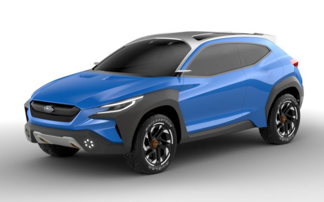 Концепт Subaru Viziv Adrenaline представляет безумное шоу суперкаров на Земле