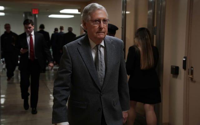 ミッチ「タートルフェイス」マコーネルが調子を変え、刑事司法改革法案の投票を推進