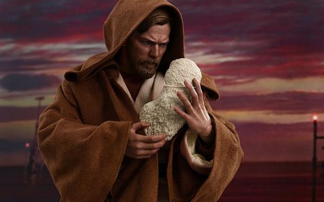 โอ้มายก๊อดของเล่นสุดฮอตสร้างภาพแอคชั่น Baby Luke Skywalker