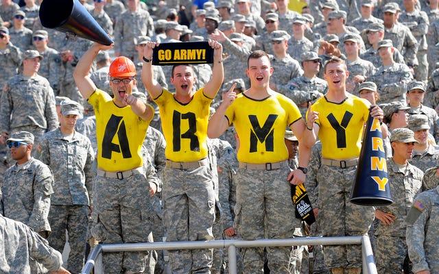 陸軍にもウェイクフォレストのリークゲームプランが提供されている可能性があります