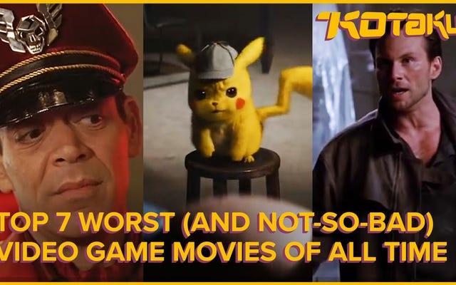 Las peores (y no tan malas) películas de videojuegos