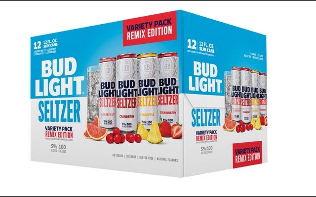 Bud Light Seltzer wprowadza trzy nowe smaki