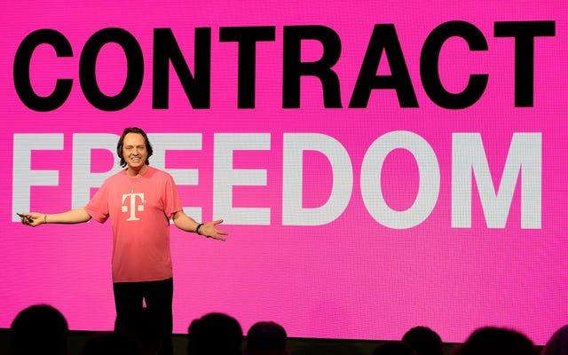 T-Mobileは、連邦政府がスプリントの合併を検討している間、ワシントンDCのトランプホテルで195,000ドルを費やしたことを認めています