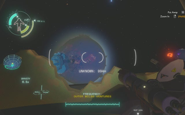 Outer Wildsは、宇宙探査の喜びと恐怖についての優れたゲームです。