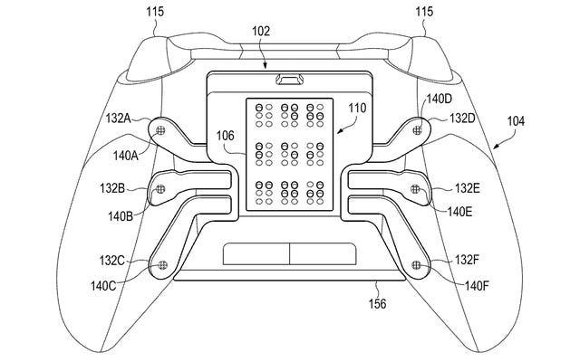 Un brevet Microsoft imagine une manette Xbox personnalisée pour les joueurs ayant une déficience visuelle