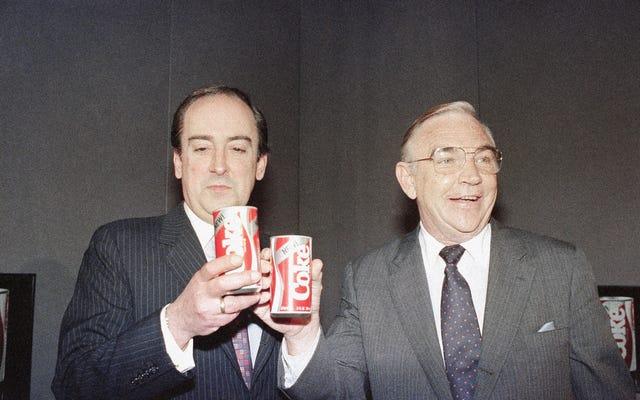 जिस दिन कोका कोला ने अपने इतिहास में सबसे बड़ी गलती की: पेप्सी के स्वाद की नकल करना