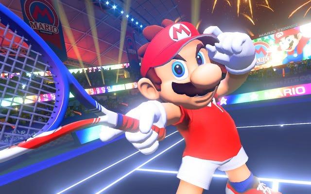新しいマリオテニスは間違いなく格闘ゲームです
