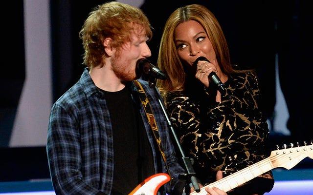 แผนของ Ed Sheeran สำหรับการครอบครองงานแต่งงาน - เฉือน - โลกกำลังทำงานอยู่ (ขอบคุณมากBeyoncé)