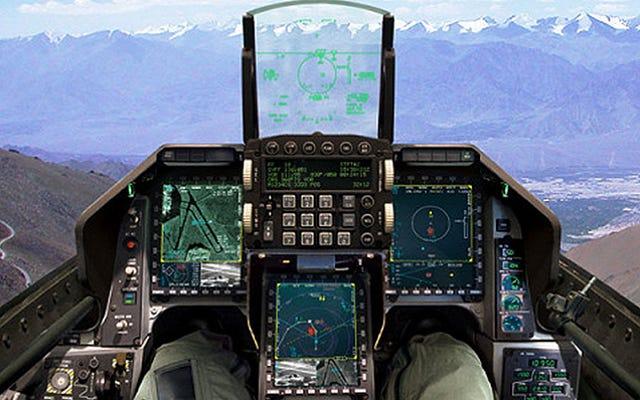 Non è l'F-16 di tuo padre: fai un giro dell'F-16IN Super Viper Cockpit