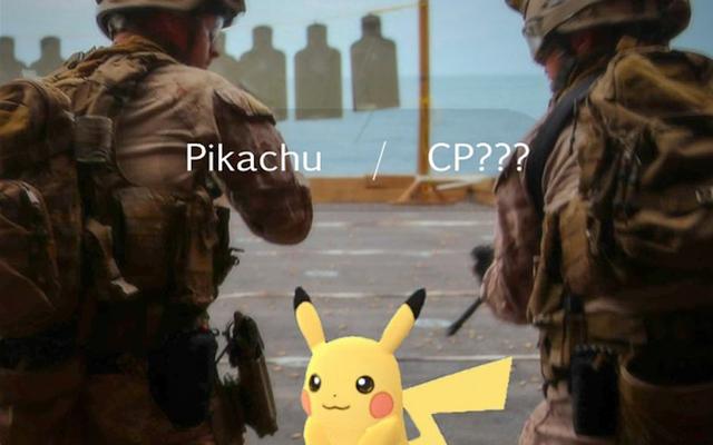 याद रखें, सैनिकों, पोकेमॉन गो से सावधान रहें
