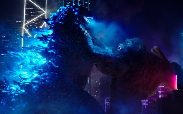 Godzilla vs. Kong ofrece todo el caos vertiginoso de monstruo a monstruo que un fanático de Kaiju podría desear