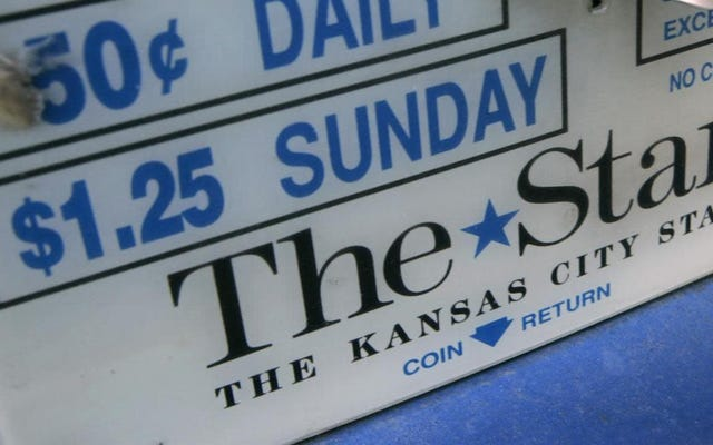 カンザスシティスターは、人種差別的な報告の数十年について謝罪します