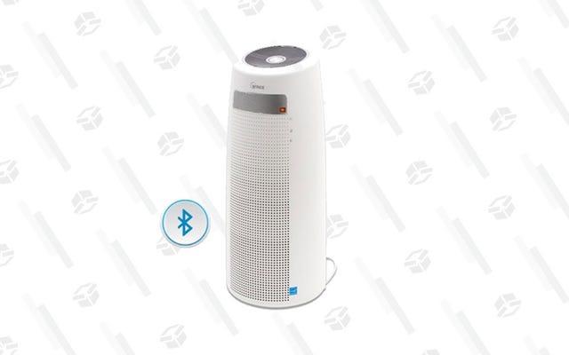 Limpia el aire mientras escuchas bops con un purificador de aire Winix