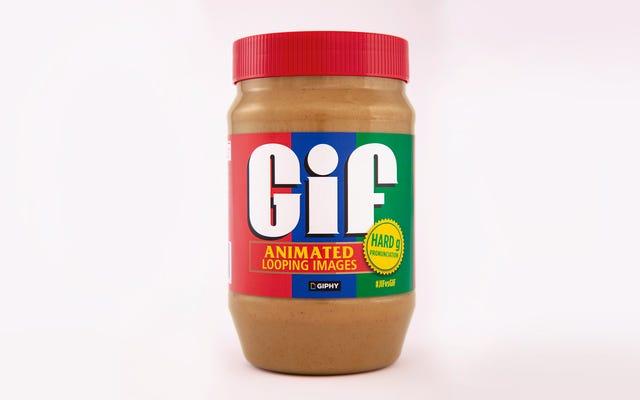 निहारना, GIF मूंगफली का मक्खन