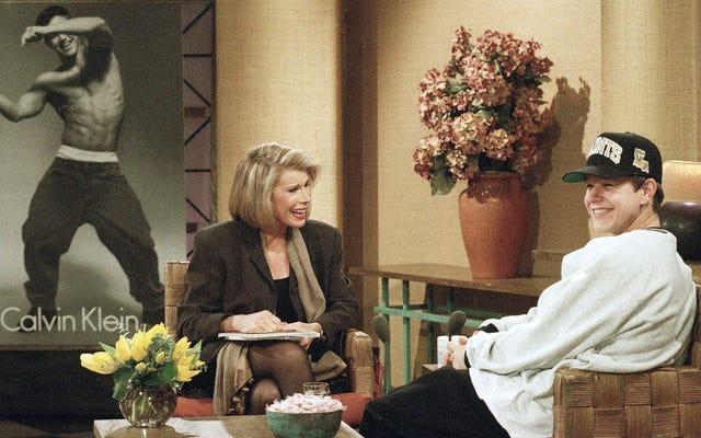 ここでは、ジョーンリバーズと「マークマーク」で1990年代の最も純粋なエッセンスを浴びてください
