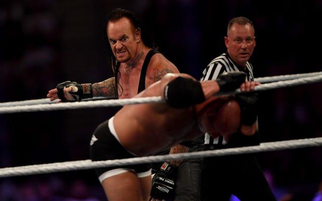 WWEはついにアンダーテイカーを放っておくつもりです...多分